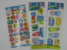 Lot of 87+ Dr. Seuss & MickeyMouse Clubhouse Stickers