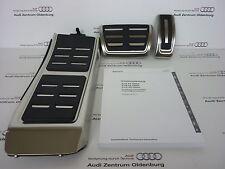 Audi Conjunto CASQUILLOS acero inoxidable, A4, A5, Q5, S tronic /