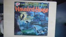 Disney Studios Chilling, Thrilling, Sounds of the HAUNTED HOUSE LP 1979