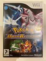 Pokemon Battle Revolution Nintendo Wii WiiU Game PAL Complete With Manual