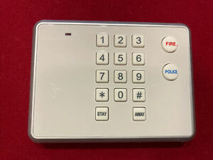 2GIG-PAD1-345 Wireless Security Secondary Alarm Keypads Set Of 2