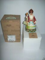 jim Shore A Smile For Samichlaus Swiss Santa Christmas Figurine 4053711 In box