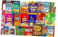 Blue Ribbon Care Package 45 Count Ultimate Sampler Mixed Bars, Cookies, Chips,