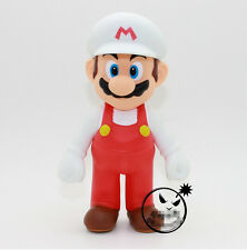 "New Super Mario Bros. - 5"" Fire Mario Action figures Doll Free SHIPPING"