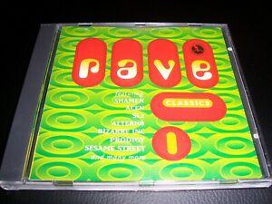 Rave Classics rare old skool dance CD