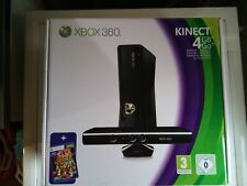 console xbox 360  4gb + kinect adventures