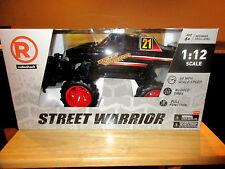Radio Shack R/C Street Warrior Truck 1:12 scale Black 27 Mhz New in Box