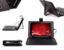 "Micro USB UK QWERTY Keyboard Case For Toshiba Encore 8"" w/ Sturdy Stand"