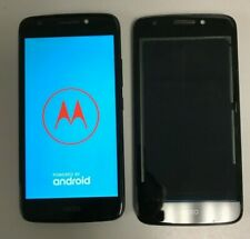 LOT OF 2 Motorola MOT1766BLK 16GB 2GB RAM Smartphone - Black FOR PARTS AS-IS