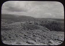 Glass Magic Lantern Slide GEOLOGY SURVEY NO9 C1890 PHOTO UK ?