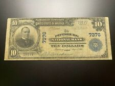New listing Pittsburg, Texas 1902 National Note. Charter 7376.