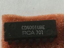RCA CD4001UBE, 14 Pin, (Lot of 6), NEW