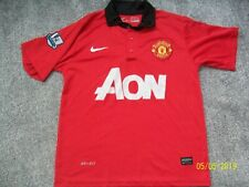 Manchester United Replica Home Top Shirt 2013/2014 Size Adults Extra Small XS