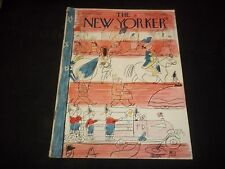 1949 JULY 2 NEW YORKER MAGAZINE - BEAUTIFUL FRONT COVER FOR FRAMING- J 1356