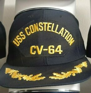 USS Constellation CV-64 Hat Ballcap Military