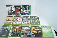 Lot Of 12 Xbox Games