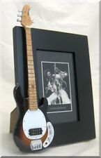 LOUIS JOHNSON  Miniature Guitar  Bass Frame  Stingray