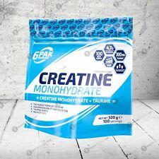 6Pak Nutrición Monohidrato De Creatina 500g