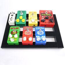 Pedalera De Efectos Guitarra Setup Pedalboard & Magic Tape Cable Ties 37x27 cm