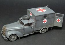 Lead Warrior 1/35 Opel Admiral Ambulance Luftwaffe type Conversion (ICM) LW35206