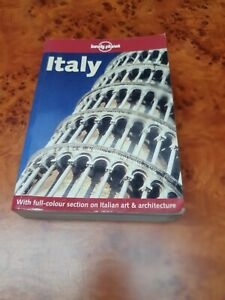 Lonely Planet: Italy. With Full-Colour Section of Italian Art and Architecture [
