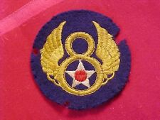 ORIGINAL WWII THEATER MADE 8TH AIR FORCE PATCH