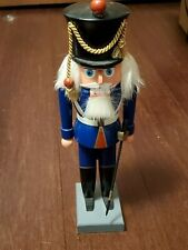 Vintage Royal Soldier Nutcracker with Sword Made in Germany Real Fur OBO