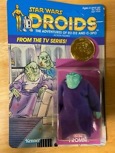 Star Wars Droids Sise Fromm Figure - 1985 Kenner 12-Back- Unpunched Unopened MOC