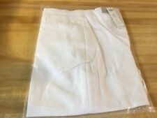 New Chico's Size 2 (12) So Slimming Brigitte Alabaster Long Shorts Not Capris