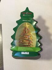 "11"" Nordic Ware Cast Aluminum Christmas Tree 4.5 Cups Cake Bread Baking Pan Mold"