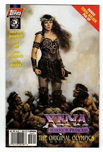 1998 Topps Xena Warrior Princess And The Original Olympics #3