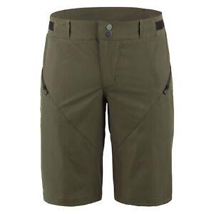 2020 Louis Garneau Leeway men's mtb shorts - with liner - green - medium