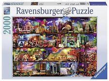 Ravensburger Rompecabezas-Viajes Estantes desafiantes Libros - 2000 Pcs - 16685