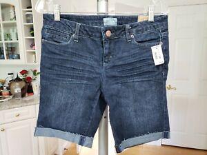 Aeropostale Distressed Denim Jean Cutoff Style Shorts Women's Size 7/8
