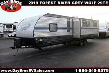 19 Forest River Cherokee Grey Wolf 29Te Travel Trailer Towable Rv Camper Bunks