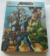 Marvel The Ultimate Avengers Collection Limited Blu-Ray Steelbook NEU NEW OVP