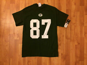 NWT Men's M Majestic NFL Shirt - Green Bay Packers #87 Jordy Nelson