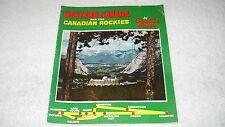 Canadian Pacific Railways Travel Brochure & Map of Western Canada & the Rockies