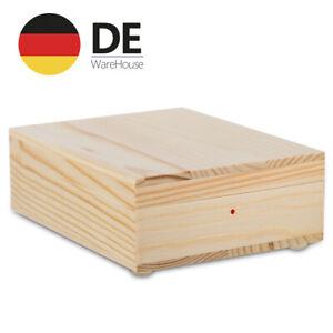 7.83HZ Schumann Wave Ultra-low Frequency Pulse Generator Wooden Case