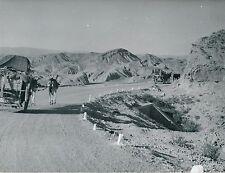 SIERRA DI GADOR c. 1950 -Paysage de Montagnes Charettes Ânes  Espagne - DIV 7107