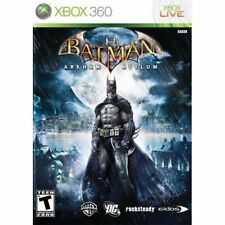Batman Arkham Asylum (2009) Brand New Factory Sealed USA Microsoft Xbox 360 X360