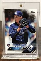 2018 18 BLAKE SNELL RAYS TOPPS ARCHIVES RC SIGNATURE SERIES ROOKIE AUTO  /99
