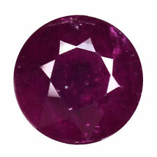 Round Loose Natural Rubies , without Star Ruby?