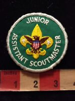 Vtg Boy Scout Patch JUNIOR ASSISTANT SCOUTMASTER 70Y3