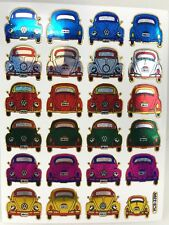 24 Assorted Volkswagen Car Vehicle Sticker Kids Scrapbook Card Envelope Sealing