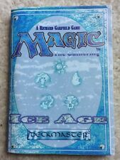 Original 1995 Magic The Gathering Ice Age Card Game Instruction Booklet
