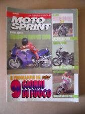 MOTOSPRINT n°49 1991  Test ENDURO YAMAHA WR125-250  [MS7]