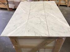 Bianco Carrara Honed Marble Tiles, Floor/Wall Tile 12x24, JOBLOT 24m2 Travertine
