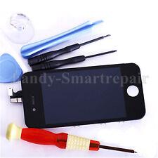 LCD Display für iPhone 4S Hörer Gitter Front Glas Scheibe Touchscreen + Werkzeug