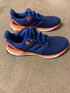 Adidas Energy Boost Shoe Blue US Men Size 10.5 Great Condition